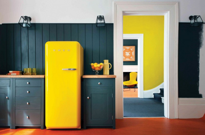 Smeg Kühlschrank FAB28   Der Farbenfrohe