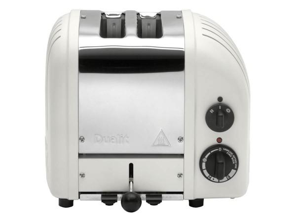 Dualit Toaster Vario - 2 Scheiben Weiß matt