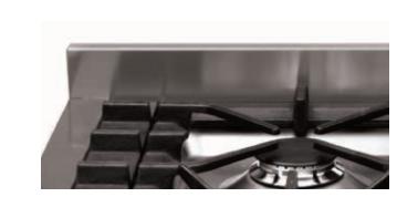 Steel Spritzschutz SA-GT für Genesi Herde