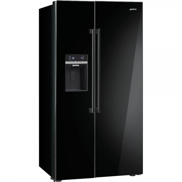 smeg side by side k hlschrank sbs63ned 90 cm welter welter k ln. Black Bedroom Furniture Sets. Home Design Ideas