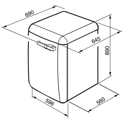 smeg lbb14pk 2 waschmaschine cadillac pink welter welter k ln. Black Bedroom Furniture Sets. Home Design Ideas
