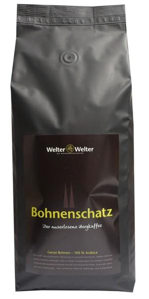 Espresso Welter & Welter Bohnenschatz 100, 1 kg Bohnen
