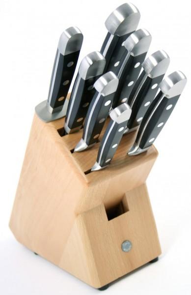 Güde Messerblock Buche natur für 8 Messer