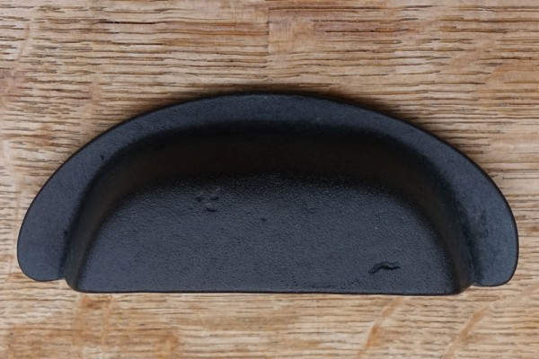 Muschelgriff 88 mm Schwarz-Bronze BLK
