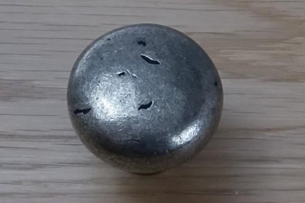 Möbelknopf 35 mm Antik-Zinn OPW