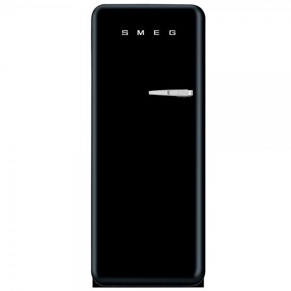 Smeg Kühlschrank FAB28LBL3 Schwarz mit Linksanschlag