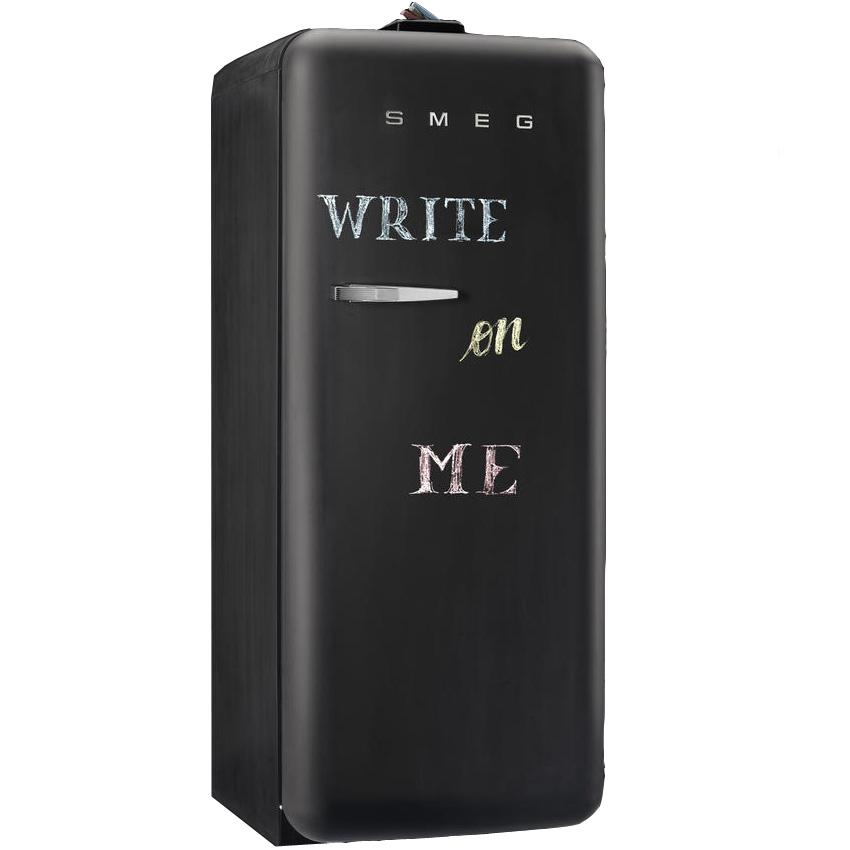 smeg k hlschrank fab28rdbb write on me schiefertalel welter und welter k ln. Black Bedroom Furniture Sets. Home Design Ideas