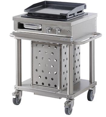 Westahl Open Cook WTG720PL Grillwagen Plancha Gas