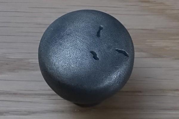 Möbelknopf 35 mm Veraltetes Eisen AI