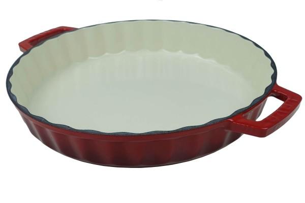 Tarte-Quicheform aus Gusseisen 30 cm