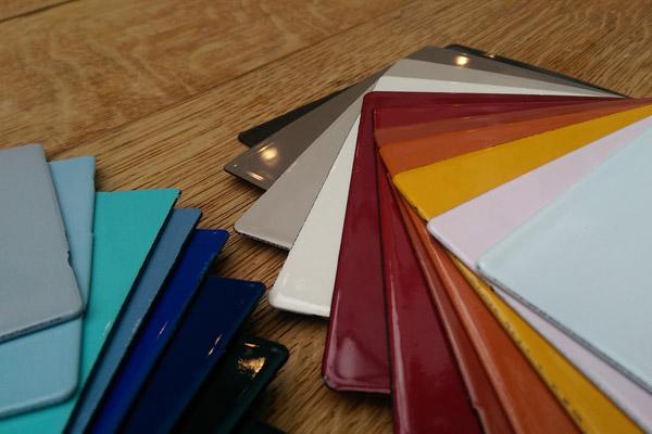 Lacanche Farbmuster Farben