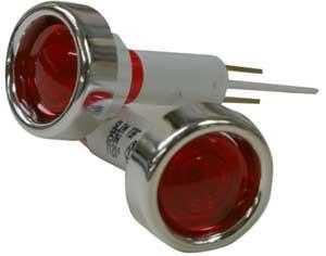 Isomac 000233 Ersatzteil Lampe Rot