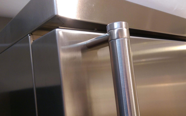 Smeg Kühlschrank Verbrauch : Smeg kühlschrank fa390 in volledelstahl hier kaufen welter