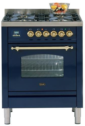Ilve PN-70-MP Gasherd blau