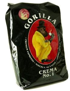 Espresso Gorilla 1 Kg Bohnen - Crema No. 1 100%