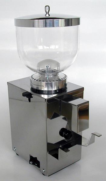 Isomac Macinino Cona Inox Espressomühle mit Metall Einstellring