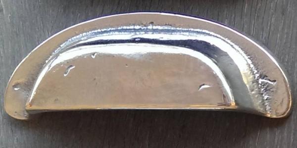 Muschelgriff 88 mm Weiß-Bronze WB