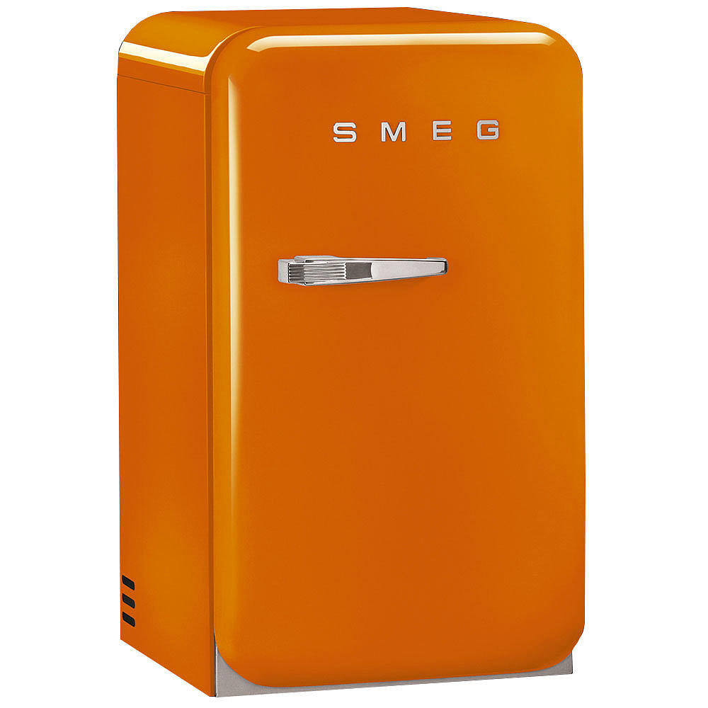 smeg k hlschrank fab5 orange minibar welter welter k ln. Black Bedroom Furniture Sets. Home Design Ideas
