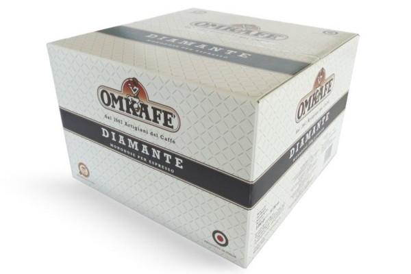 Espresso Omkafe Diamante 92/8, ESE Cialde - 150 Pads