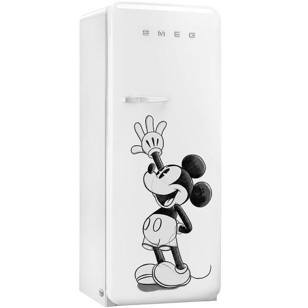 Smeg Kühlschrank Mickey Mouse FAB28RDMM5