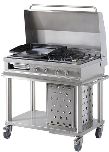 Lacanche Westahl Open'Cook WTG Grillwagen 120 cm