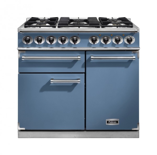 Falcon Standherd Deluxe 100 cm China Blue