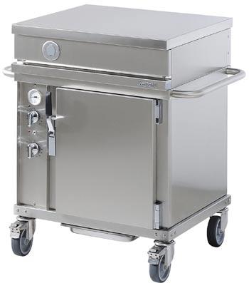 Westahl open cook wta701ct grill wagen backofen hei luft welter welter k ln for Backofen mit wagen