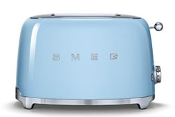 Retro Kühlschrank Pastellblau : Smeg toaster tsf01pbeu 2 scheiben pastellblau welter & welter köln