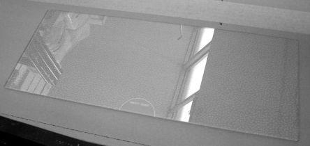 Smeg Ersatzteil Glasplatte Gemüsefach 525 x 215 mm