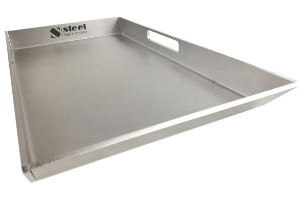 Steel Teppan-Yaki Grillplatte für Induktion