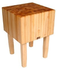Boos Blocks Gourmettisch AA02 aus Ahorn 61x61x40 cm