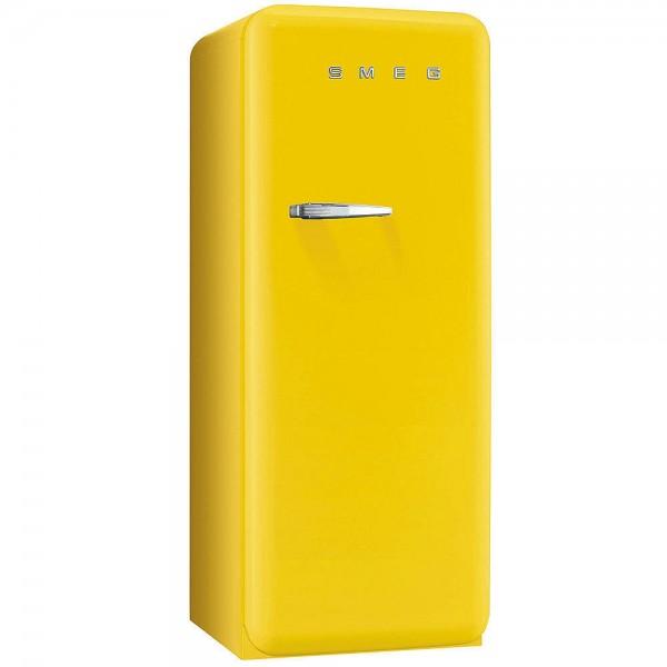 Smeg Kühlschrank FAB28RYW5 Gelb mit Rechtsanschlag