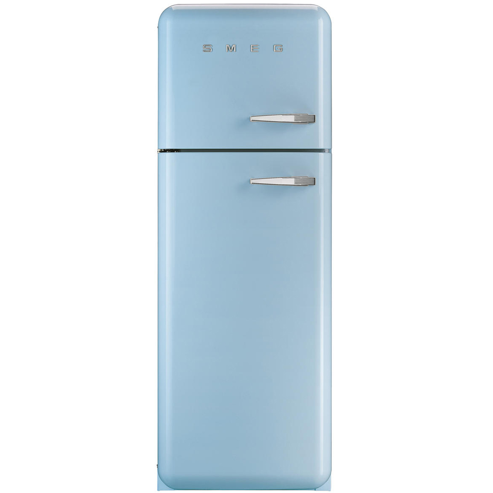 Smeg Kühlschrank FAB30 Pastellblau - Standkühlschrank | Welter ...