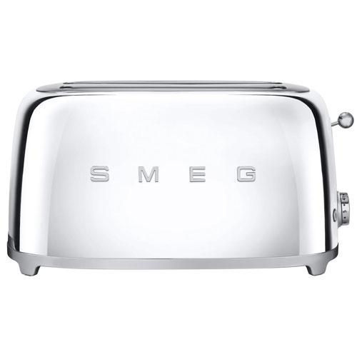 smeg toaster tsf02sseu langschlitz chrom welter welter k ln. Black Bedroom Furniture Sets. Home Design Ideas