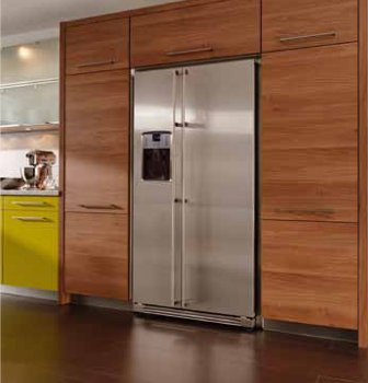 o f classic side by side k hlschrank mit dispenser