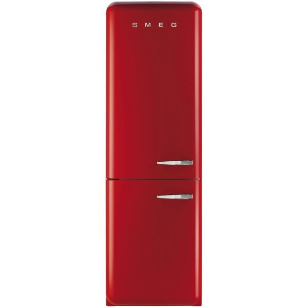 Smeg Kühlschrank FAB32LRD3 Rot mit Linksanschlag