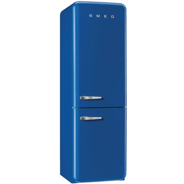 Smeg Kühlschrank FAB32RBE3 Dunkelblau mit Rechtsanschlag