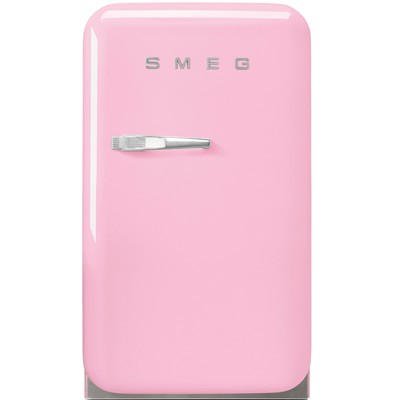 Smeg Kühlschrank Cadillac Pink FAB5RPK / FAB5LPK