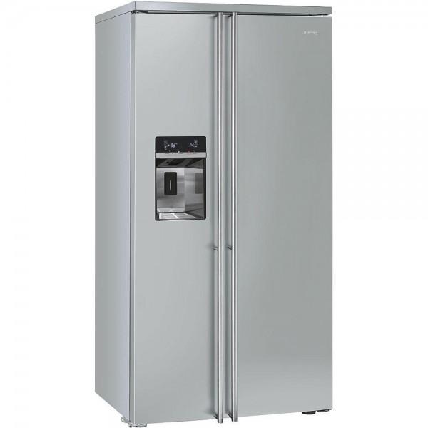 smeg kühlschrank side by side fa63x 90 cm