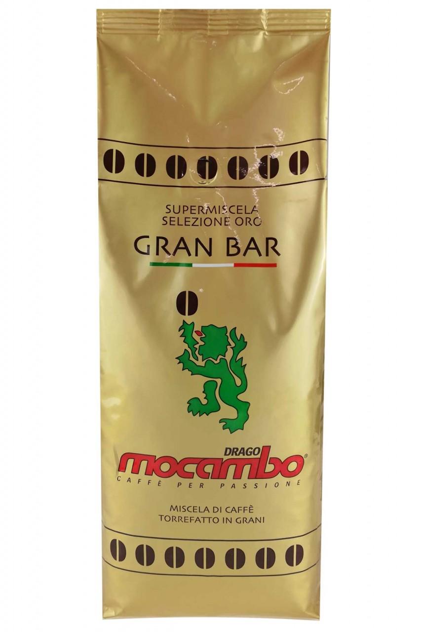 Espresso Mocambo Gran Bar 80/20, 1 kg Bohnen