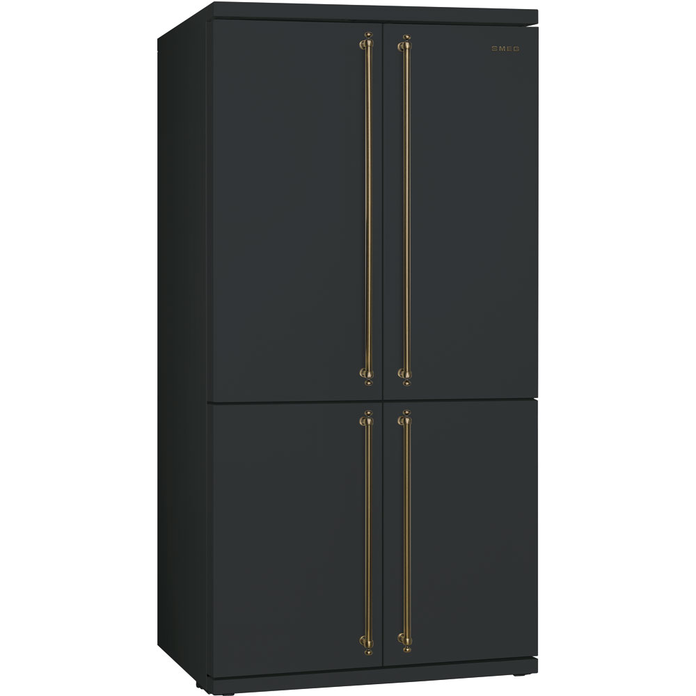 smeg nostalgie side by side k hlschrank sbs8004ao 90 cm welter welter k ln. Black Bedroom Furniture Sets. Home Design Ideas