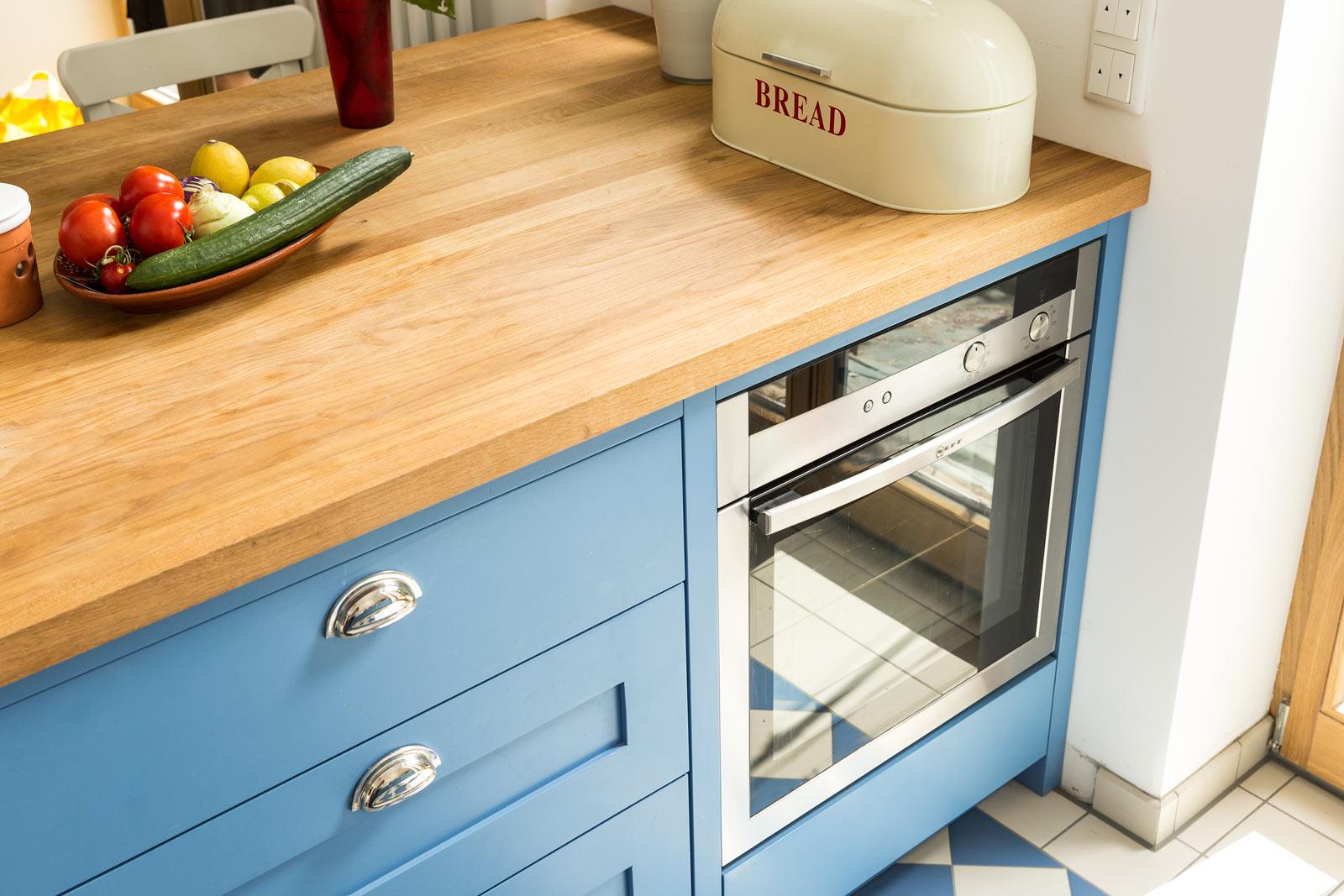 Küchenprojekt | Cook´s Blue - Die blaue Shaker Küche | Welter ...