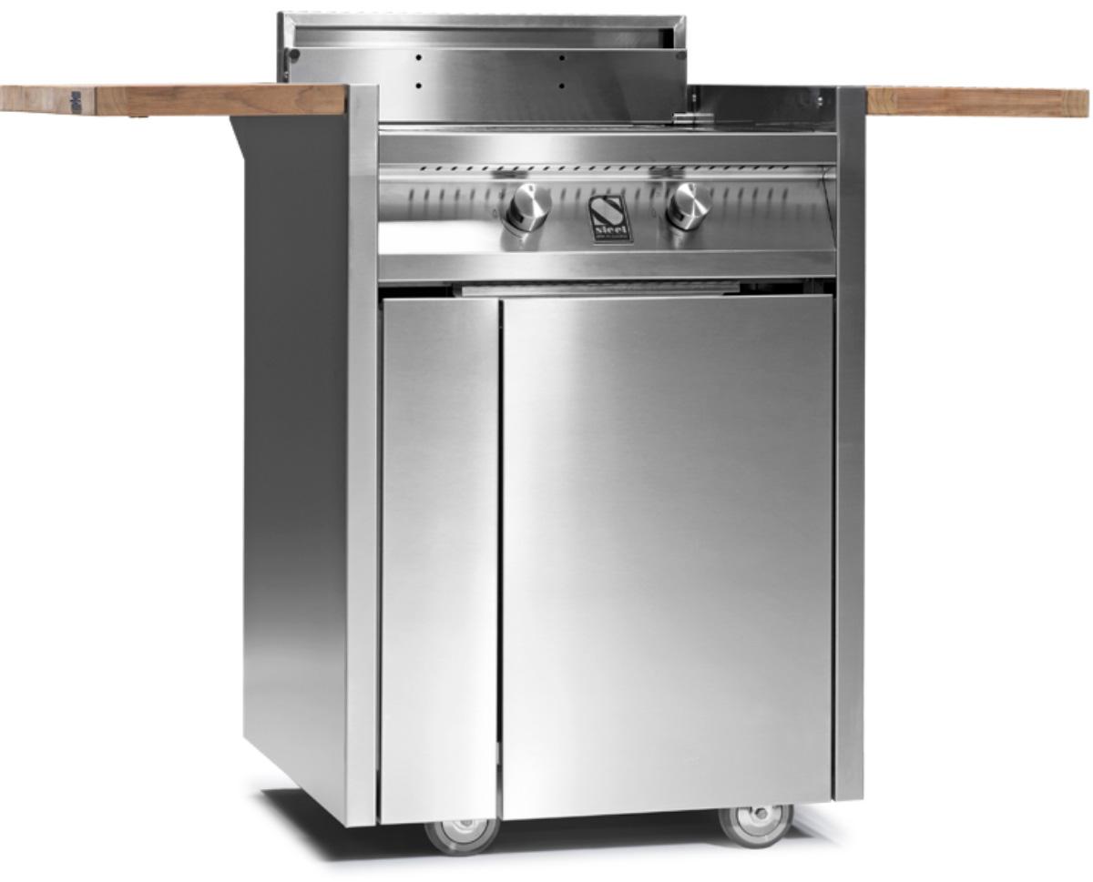 steel green grill wagen 2 brenner welter und welter k ln. Black Bedroom Furniture Sets. Home Design Ideas