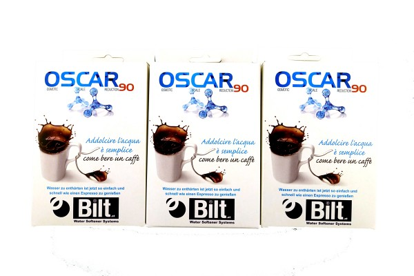 Oscar 90 Wasserfilter Pad 3er Set