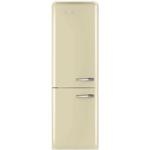 Smeg Kühlschrank FAB32LCR5 Creme mit Linksanschlag