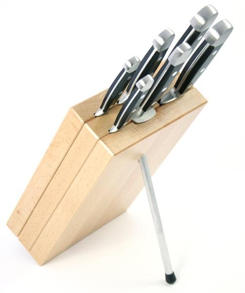 Güde Messerblock Milly Buchenholz M6 für 6 Messer