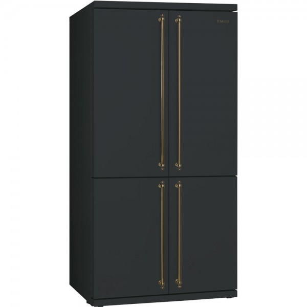 smeg nostalgie side by side k hlschrank sbs8004ao 90 cm. Black Bedroom Furniture Sets. Home Design Ideas