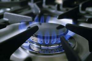Kochen-auf-Gas