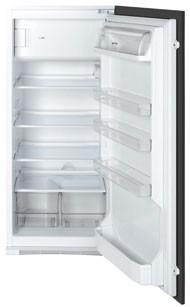 Smeg FR205APL7 Einbaukühlschrank mit Gefrierfach, Nischenhöhe 122,5 cm