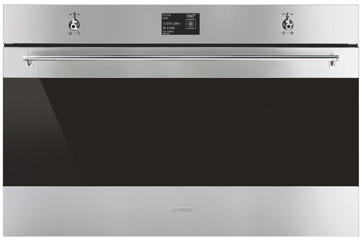 Smeg Kühlschrank Silber : Smeg classici sfp backofen hier online kaufen welter